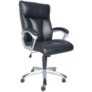 Sealy Burano Bonded Leather Executive Chair, Black