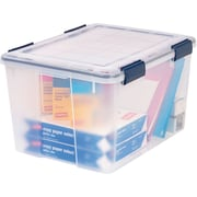 IRIS® 46 Quart Weathertight Plastic Storage Box (110455)