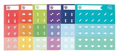 Erin Condren Designer Do-It-All Dots, 6 Sheets (1646135)