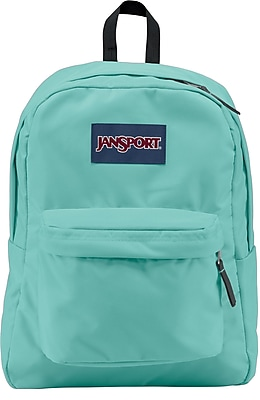 Jansport Superbreak Backpack, Aqua Dash
