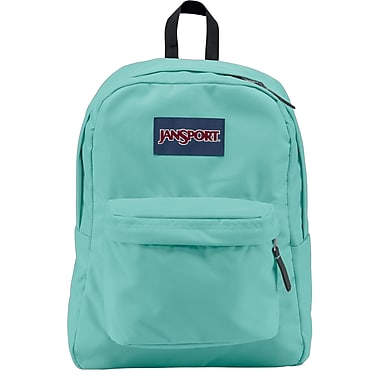 Jansport Superbreak Backpack, Aqua Dash (T5019ZG) | Staples®