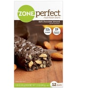 ZonePerfect® Bars, Dark Chocolate Almond, 1.58 oz. Bars, 12 Bars/Box