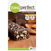 ZonePerfect® Bars, Dark Chocolate Almond, 1.58 oz. Bars, 12 Bars/Box