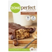 ZonePerfect® Chocolate Peanut Butter Bars, 1.76 oz. Bars, 12 Bars/Box