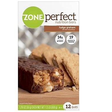 ZonePerfect® Fudge Graham Bars, 1.76 oz. Bars, 12 Bars/Box