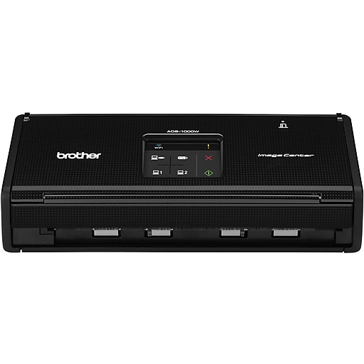 Brother ads 1000w compact color wireless desktop scanner staples httpsstaples 3ps7is reheart Images