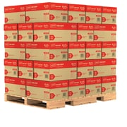 "Staples® Copy Paper, 8 1/2"" x 11"", 20 lbs., 92 Brightness, 40 Cases/Pallet (135848-LQO)"