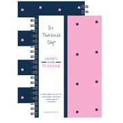"Kahootie Co™ It's That Kinda Day™-  Mom's Weekly Planner, 6"" x 9"", Pink (ITKMP)"