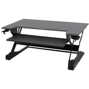 Ergotron WorkFit-TL 37.5'' Work Station Sit & Stand Desk, Black/Dark Gray (33-406-085)