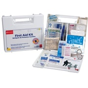 First Aid Only® 10 Person Small First Aid Kit, Plastic Case, with Dividers (222-U)