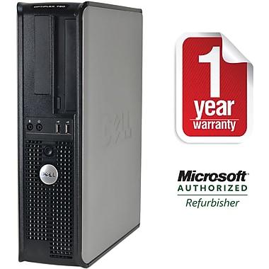 Refurbished Dell 760, 1TB Hard Drive, 4GB Memory, Intel Core 2 Duo, Win 10 Pro