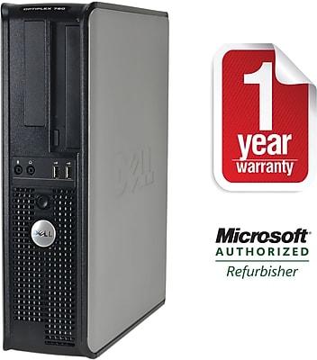Refurbished Dell GX760, 1TB Hard Drive, 4GB Memory, Intel Core 2 Duo, Win 7 Pro