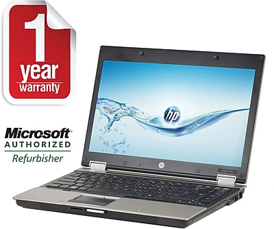 HP 8440P Core I5-2.4GHz Processor, 4GB Memory, 320GB Hard Drive, DVDRW, 14.1 Display, Windows 7 Pro 64bit, Refurbished
