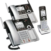 VTech CM Series 4-Line Small Business Phone System – Office Starter Bundle with CM18445 + CM18245 + CM18045