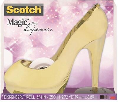 Scotch® Magic™ Tape with Desktop Tape Dispenser, 3/4