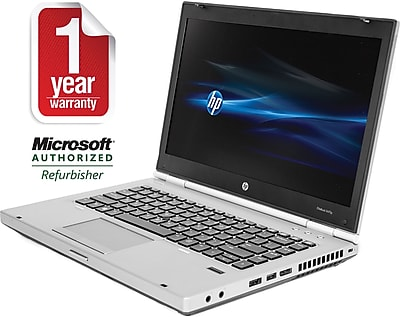 Refurbished HP 8470P 14'' Notebook Core i5 2.6Ghz 4GB RAM 320GB HDD Win 10 Home