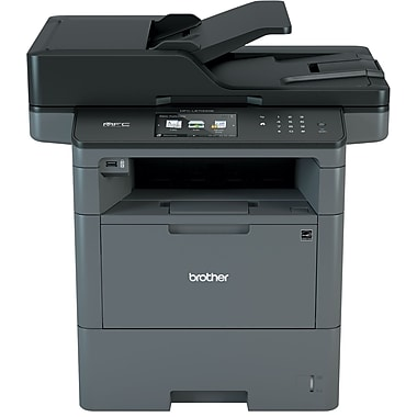 Brother wireless monochrome laser all in one printer for Brother ds 920dw wireless duplex mobile color page scanner white
