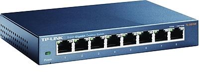 TP-LINK 8-Port 10/100/1000Mbps Desktop Switch (TL-SG108)