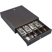 "Hercules Cash Drawer, Two Keys, 13"" x 14-1/2"", Charcoal Gray"