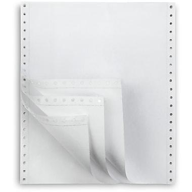 Staples Multi-Part White Computer Paper, 4-Part, 9 1/2