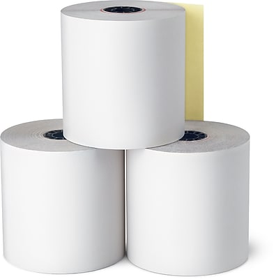 Staples Credit Card Paper Roll, 3
