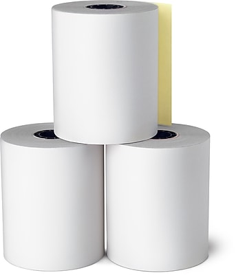 Staples 2-Ply Financial Register POS Roll, 2-Ply, 3