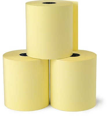 Staples Thermal Paper Rolls 28402, 3 1/8