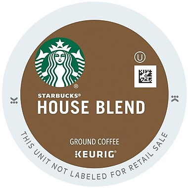 Keurig® K-Cup® Starbucks® House Blend, Regular, 16 Pack