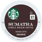 Keurig® K-Cup® Starbucks® Sumatra Coffee, 16 Count