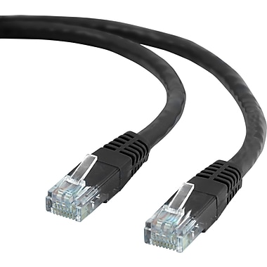 Staples® 14' CAT6 Ethernet Networking Cable, Black