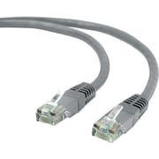 Staples 50' CAT5e Ethernet Networking Cable, Gray