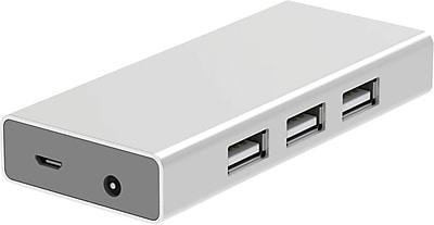Staples 7-Port USB 2.0 Hub, White