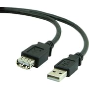 Staples 6' USB 2.0 Extension Cable, Black