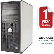 Refurbished Dell Optiplex 330, 80GB Hard Drive, 2GB Memory, Intel Dual Core, Win 10 Home