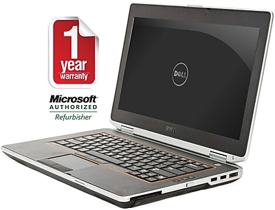 "Dell E6420 14"" Laptop, Core I5-2.5GHz Processor, 4GB Memory, 320GB Hard Drive, DVDRW, Windows 7 Pro 64bit, Refurbished"