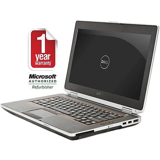 """Dell E6420 14"""" Refurbished Laptop, Core i5 2.5GHz Processor, 4GB Memory, 500GB HDD"""
