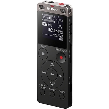 voice recorder sony icd ux523 rh staples com Sony Digital Recorder Voice Activated Sony ICD -PX333 Digital Voice Recorder