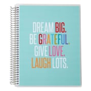 "Erin Condren Simple Notebook, Quote, 7""x 9"", College Ruled (1646137)"