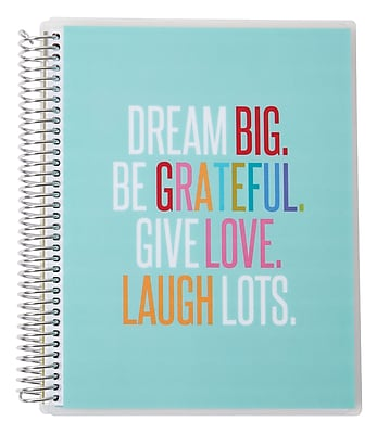 Erin Condren Simple Notebook, Quote, 7