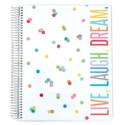 "Erin Condren Spiral Deluxe Notebook, Party Pops, 8.5"" x 11"" College Ruled (1415736)"
