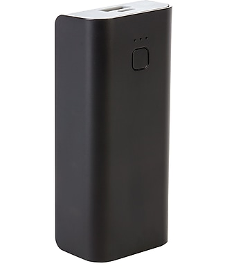 Staples Rechargeable Power Bank, 4400 mAh, Black