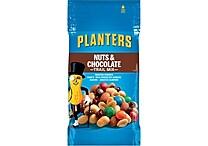 Planters® Trail Mix, Nuts & Chocolate, 2 oz. Bags, 72 Bags/Box