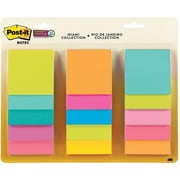 """Post-it® Super Sticky Notes, 3"""" x 3"""", Miami Collection, 15 Pads/Pack (654-15SSMULTI2)"""