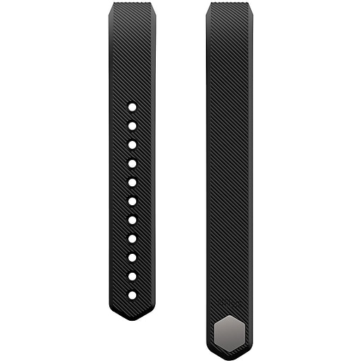 Fitbit Alta Classic Accessory Band, Black Large