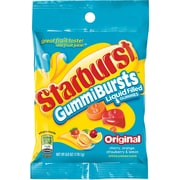Starburst® GummiBurst Candy Peg Bag, 6 oz. Bags, 12 Bags/Box