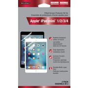 WriteRight Maximum Protection Screen Protector for Apple iPad Mini 1/2/3/4, 2/Pack
