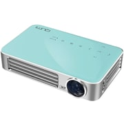 Vivitek Qumi Q6 800 Lumen WXGA LED MHL HDMI Wireless Projector (BLUE)