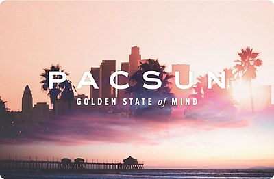 Pacific Sunwear Gift Card $100