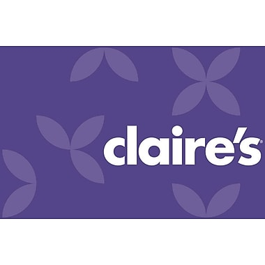 Claire's Gift Card $50