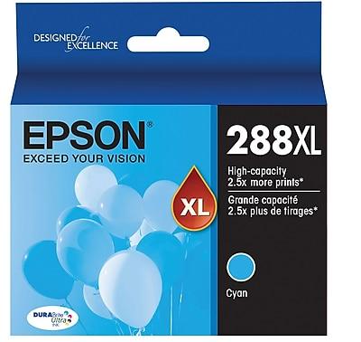Epson T288XL Cyan DuraBrite Ultra Ink Cartridge, (T288XL220) High Yield